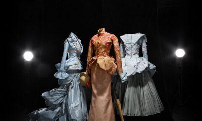 Arte y Alta Costura se fusionan en la propuesta de Dior. Foto CD