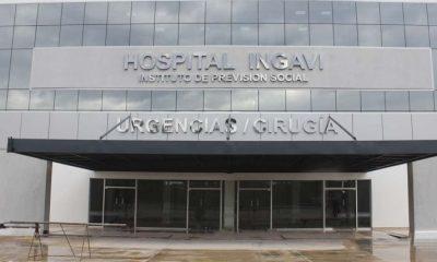 Hospital Ingavi de IPS. Foto: Gentileza.