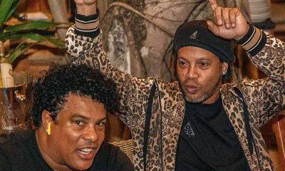 Ronaldinho pagó US$ 90.000 como reparación del daño social . Foto: @10Ronaldinho.