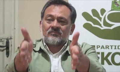 El senador Sixto Pereira (FG) sugiere pedir ayuda internacional. Foto Gnetileza