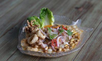 El ceviche fusionado con la cocina asiática resulta sorprendente. Foto. Bomviveur.com