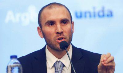 El ministro de Economía, Martín Guzmán, hizo el anuncio. Foto:RT