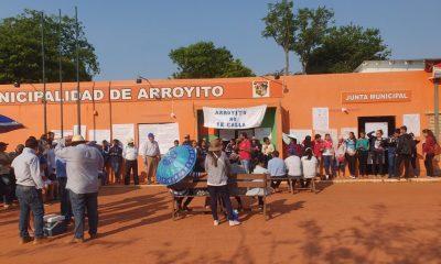La Municipalidad de Arroyito donde se solicitaba intervención. Foto: Concepción al día
