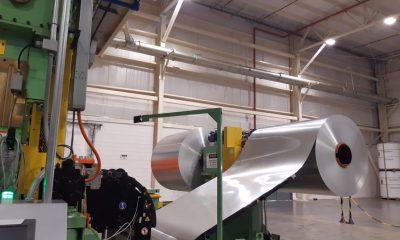 La fábricade latas y tapas de aluminio cuenta con capacidad para producir 1.100 millones de latas y 1.800 millones de tapas por año. Gentileza