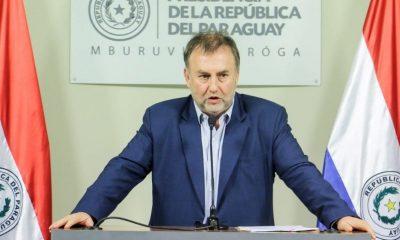 Benigno López, ministro de Hacienda asliente. Foto: Presidencia