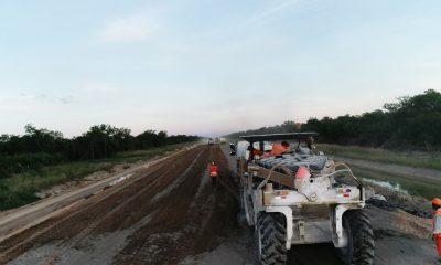 la Ruta Bioceánica ya cuenta con 106 kilómetros de ruta asfaltada y señalizada. Foto: MOPC