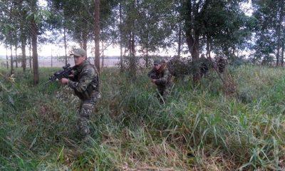 Colombia trajo equipos de inteligencia para trabajar en el norte. Foto: Archivo.