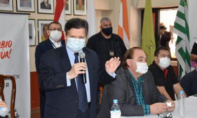 Duro revés para el Gobierno Central quedó muy patente en la conferencia de prensa. Foto: Gentileza