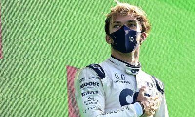 Sorpresiva victoria del piloto francés en el GP de Italia. Foto: F1