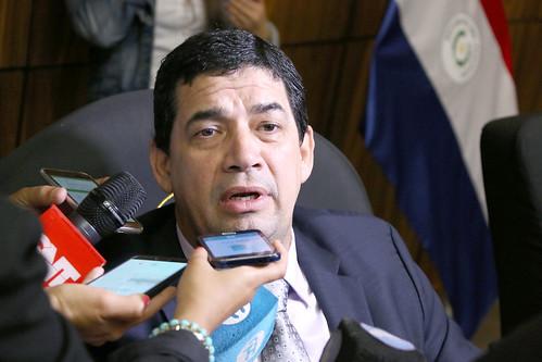 El vicepresidente de la República, Hugo Velázquez. Foto: Gentileza.