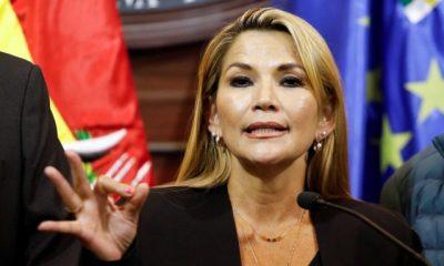 Jeanine Áñez, expresidenta de Bolivia. Foto: Infobae.