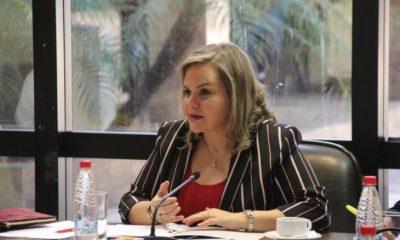 Senadora Lilian Samaniego. Foto: Gentileza