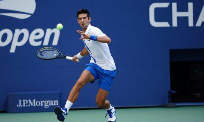 Novak Djokovic tendrá que pagar una multa de US$ 250.000 por el incidente con la jueza de línea. Foto: @usopen.