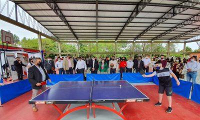San Pedro es el primer departamento que en la primera etapa del proyecto Plazas Deportivas tendrá una obra en cada ciudad. Foto: Gentileza.