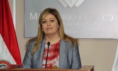 Fiscal General del Estado, Sandra Quiñónez. Foto: Gentileza.