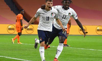 La selección italiana lidera su grupo con 4 puntos, tras conseguir un empate y una victoria en las dos primeras fechas. Foto: @Vivo_Azzurro.