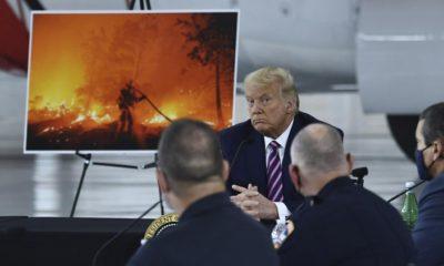 El presidente Trump en campaña por la reelección. Foto: Telam