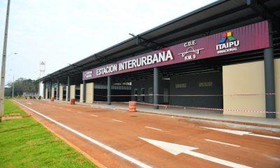 La moderna Estación Interurbana cuenta con 2.100 metros cuadrados de área techada y se erige en un punto estratégico del km 9 de la Ruta PY02. Foto: Itaipu Binacional