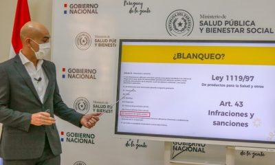 El ministro Julio Mazzoleni aclaró las informaciones surgidas sobre la empresa IMEDIC. Foto: MSPBS