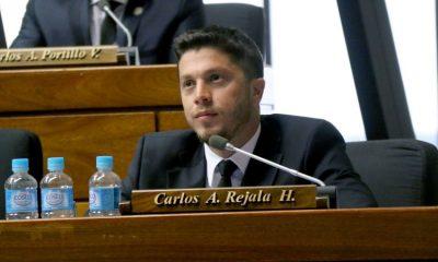 Diputado Carlos Rejala. Foto: Archivo.