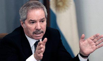 El canciller argentino Felipe Solá. Foto: Télam.