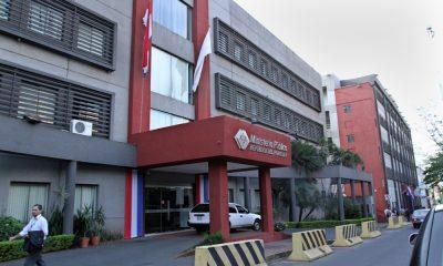 Fiscalía, sede central. Foto: Archivo.