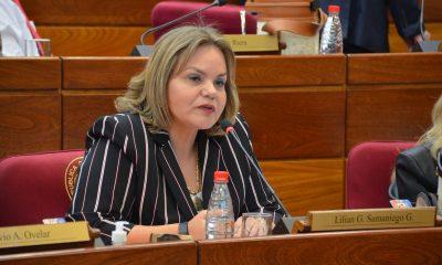 Senadora Lilian Samaniego. (Foto Gentileza)