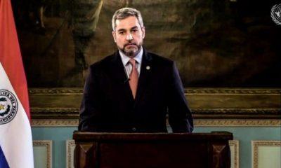 Mario Abdo Benítez. Foto: Presidencia