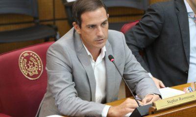 El senador del PPQ, Stephan Rasmussen. Foto: Archivo.