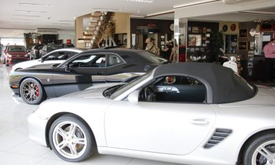 Una importante flota de vehículos de alta gama quedó en manos de la Fiscalía. Foto: Senad