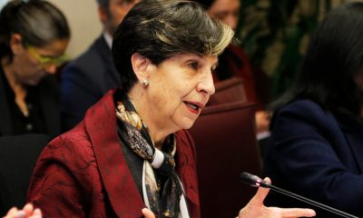 La senadora socialista Isabel Allende, hija del derrocado presidente Salvador Allende. Foto: Radio Universidad del Chile.