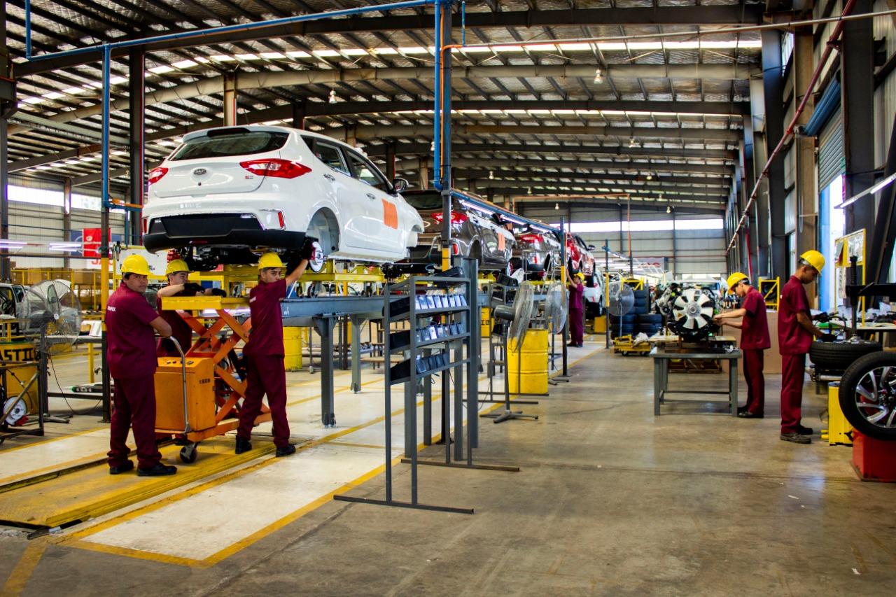 Será elaborado un plan maestro para el desarrollo de la industria autopartista. Foto: MIC