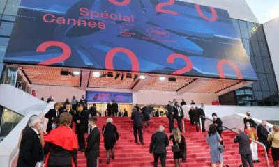 """""""¡Cannes 2021 se llevará a cabo!"""", dijeron Thierry Frémaux, delegado general del festival y Pierre Lescure, su presidente, en la apertura de la edición simbólica 2020. Foto: Infobae."""