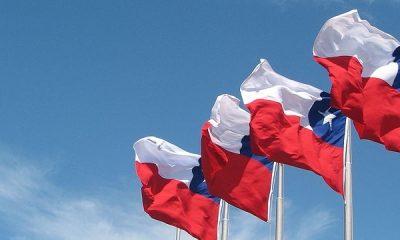 Bandera de Chile. Foto: Archivo