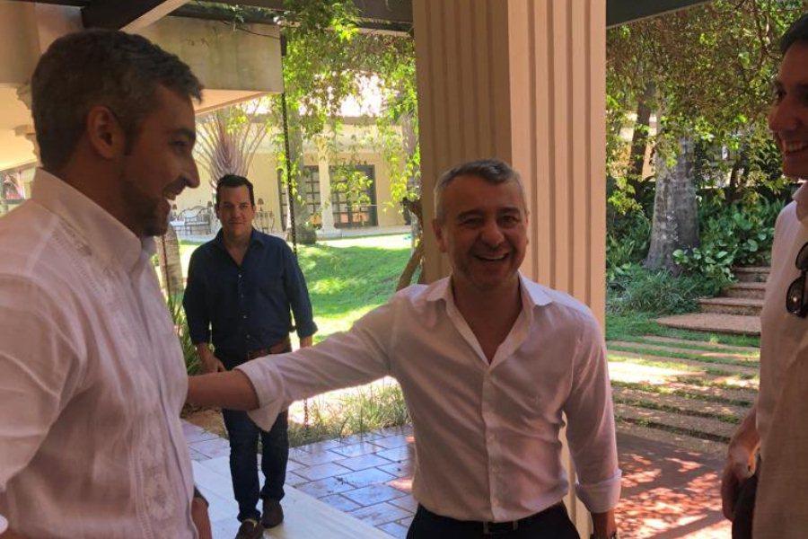 Daniel Centurión, exasesor del presidente Mario Abdo. Foto Presidencia.