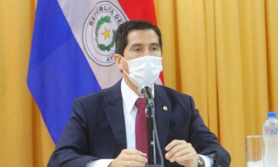 Federico Gonzales ministro de Asuntos Internacionales