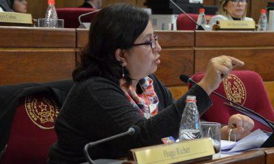 La senadora, Esperanza Martínez. Foto: Archivo.