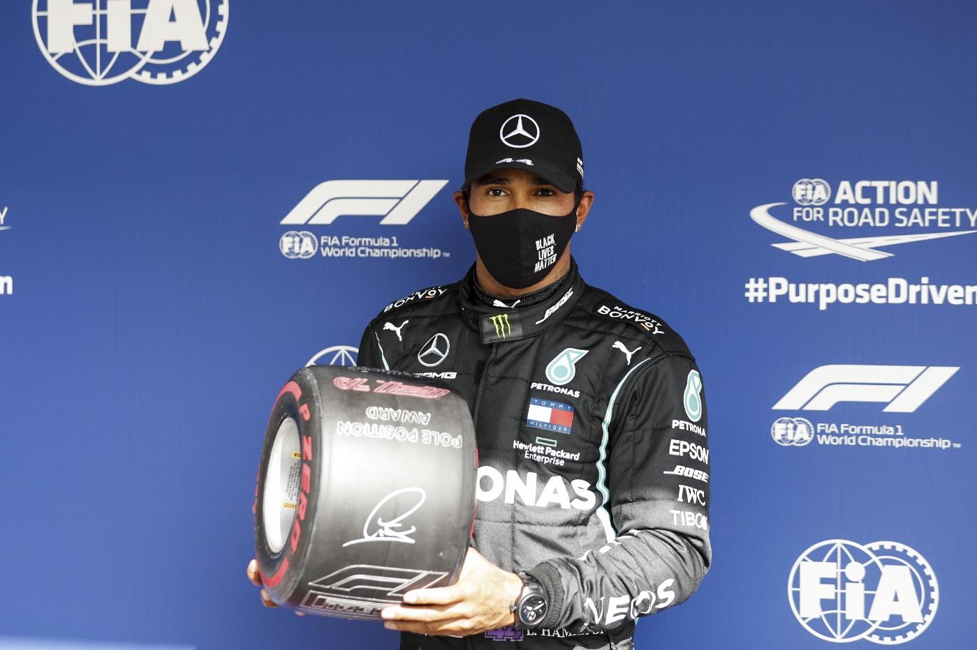 Lewis Hamilton triunfa en el Gran Premio de Portugal y consigue la 97ª pole  de su carrera en la F1 • El Nacional