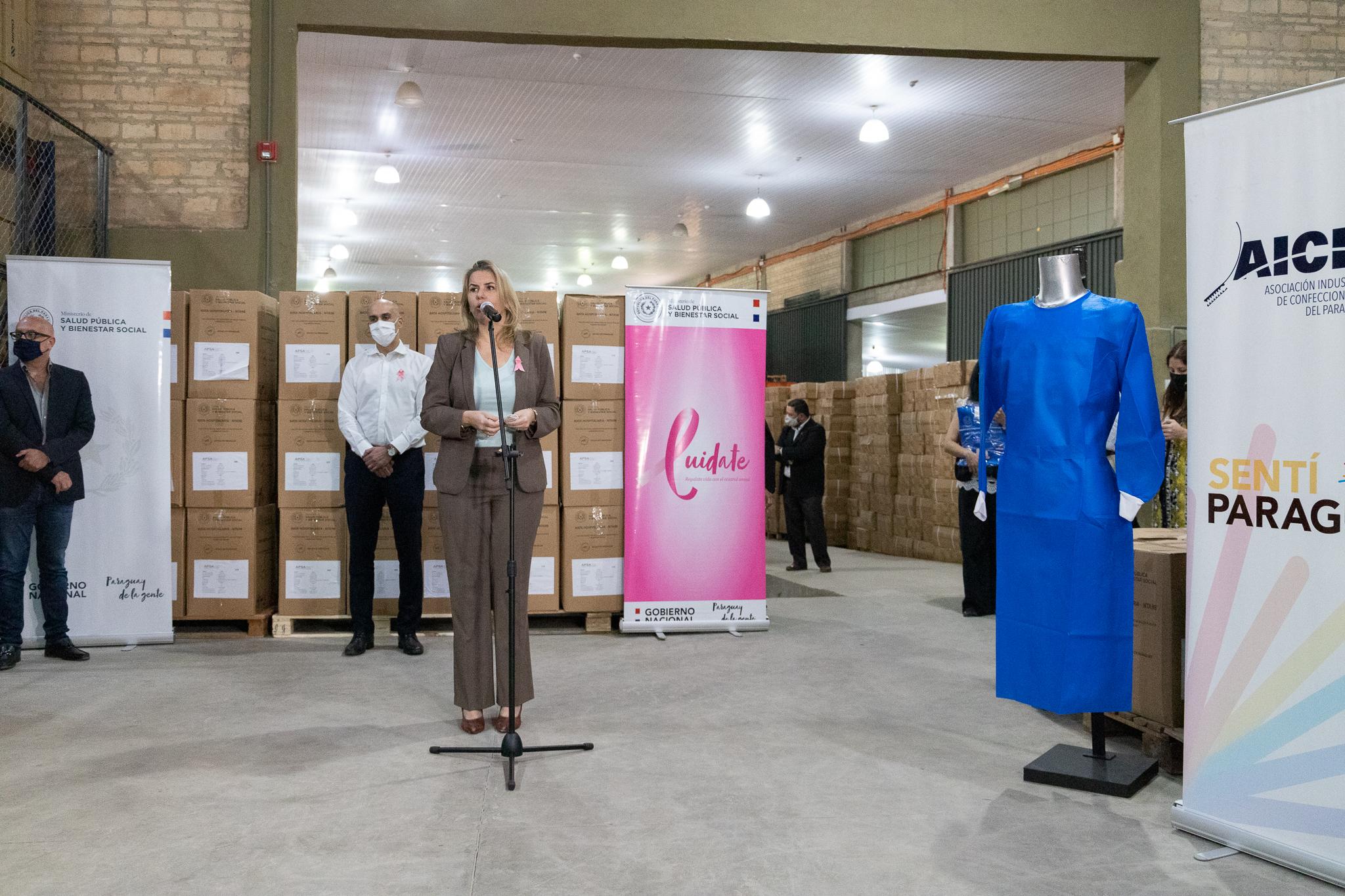 El trabajo es realizado en conjunto por más de 120 empresas de diferentes ciudades del país. Foto: Gentileza