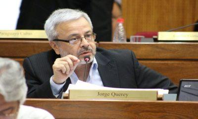 Senador Jorge Querey. Foto: Archivo.