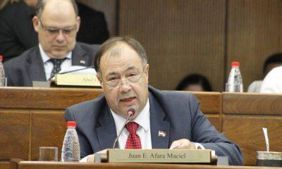 Senador colorado Juan Afara