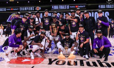 Poder finalizar la temporada hizo que la NBA cumpliera con sus compromisos televisivos, que son su principal fuente de ingresos. Foto: @Lakers.