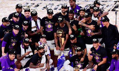 Los Angeles Lakers conquistaron su decimoséptimo anillo e igualaron a los Boston Celtics como los más ganadores de la NBA. Foto: @Lakers.