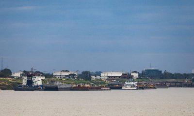 Tras bajante de Río Paraguay el Puerto de Pilar sería clave para embarcaciones. Foto: Agencia IP