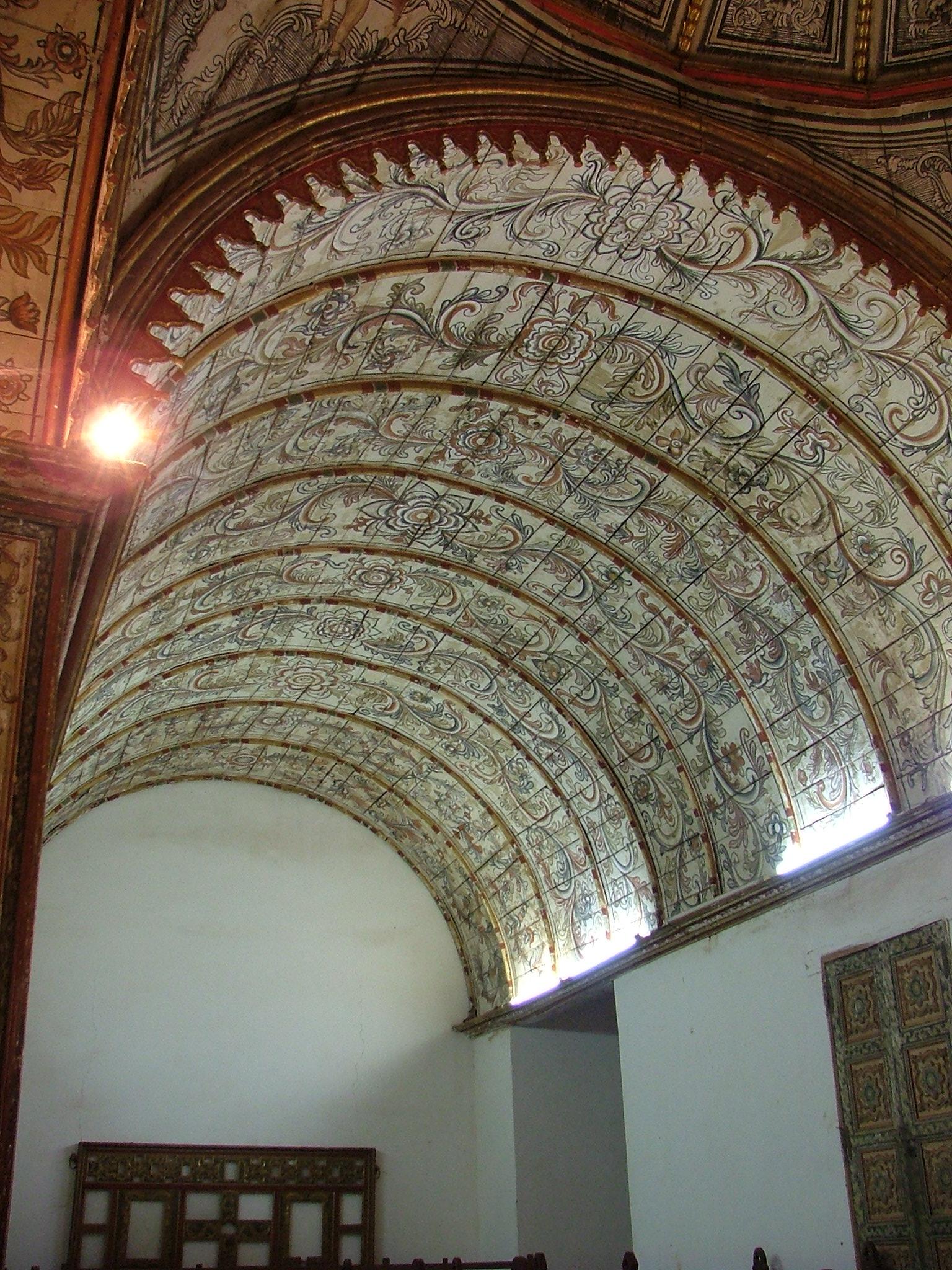 Bóveda de la sacristía, 2004. © María José Diez Gálvez