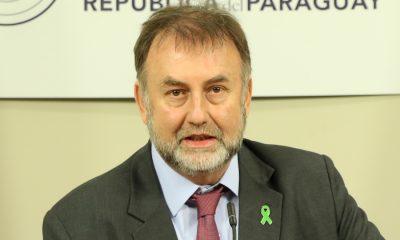 Benigno López deja de Hacienda. Foto: Archivo