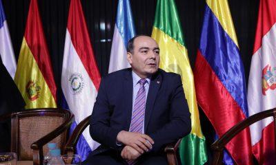 El canciller Antonio Rivas aseguró que el acuerdo Mercosur-UE está firme. Foto; IP