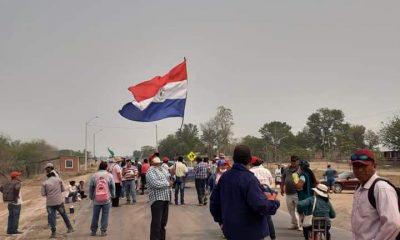 Cierre de rutas en Tte. Irala Fernandez