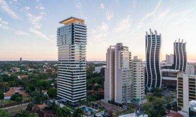 El eje corporativo de Asunción. Foto LN.com.ar