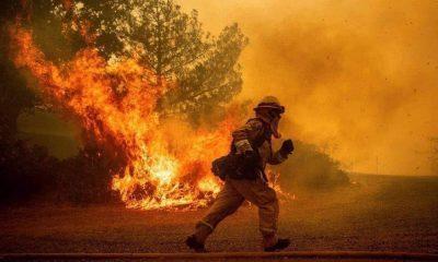 Los incendios no dan tregua y vuelven el aire irrespirable. Foto: Gentileza.